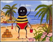 A Bee Beside The Seaside