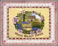 Home Sweet Home - Pink Cottage